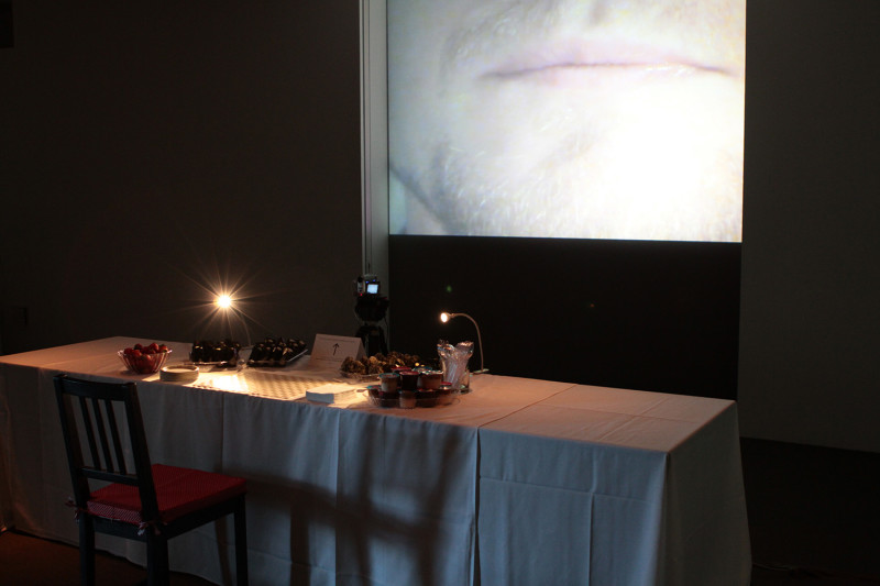 Around the Dinner Table, 2-channel video installation, Dimensions variable, 2011